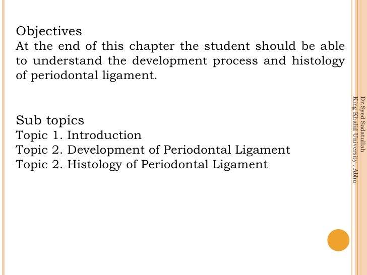 Periodontal ligament Slide 2