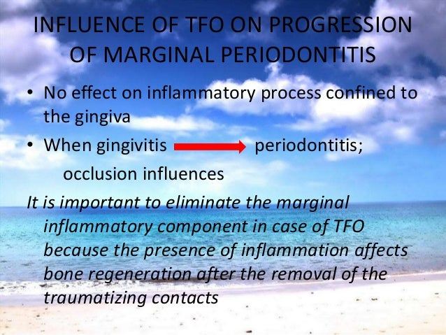 STUDIES & RESEARCHES ON OCCLUSALTRAUMAEarly investigators - important role to TFO-etiology• High crowns & restorations in ...