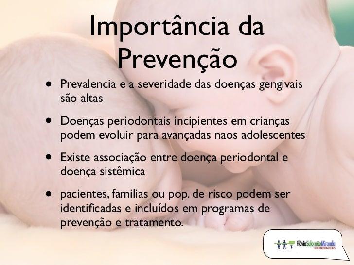 Periodontia em odontopediatria Slide 2