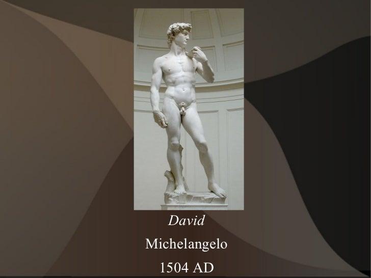 David Michelangelo 1504 AD