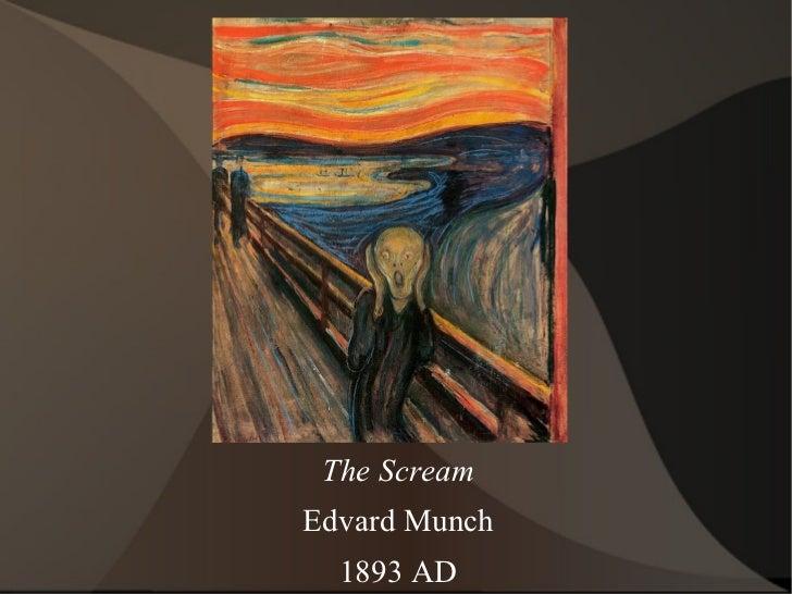 The Scream Edvard Munch 1893 AD