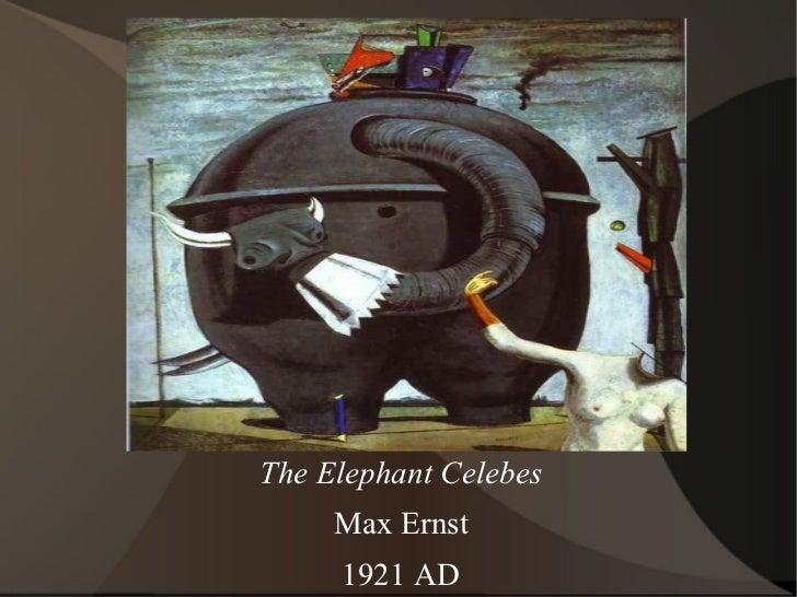 The Elephant Celebes Max Ernst 1921 AD