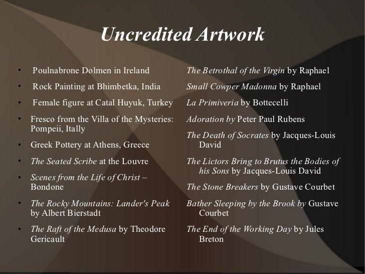 Uncredited Artwork <ul><li>Poulnabrone Dolmen in Ireland </li></ul><ul><li>Rock Painting at Bhimbetka, India </li></ul><ul...