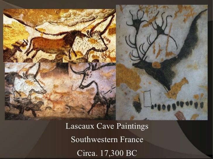 Lascaux Cave Paintings Southwestern France Circa. 17,300 BC
