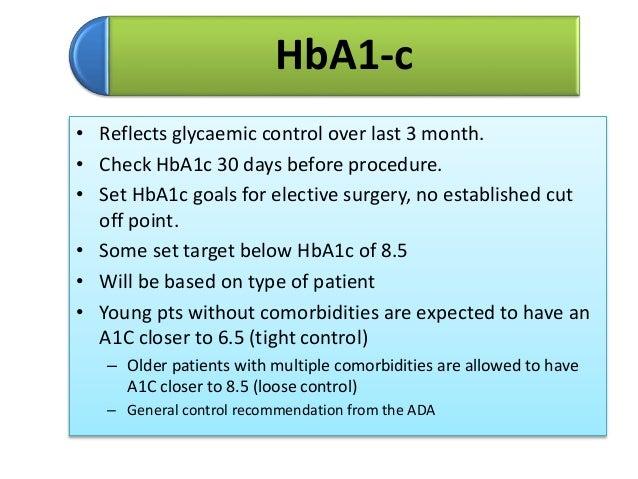 Perioperative Management Of Diabetes Mellitus
