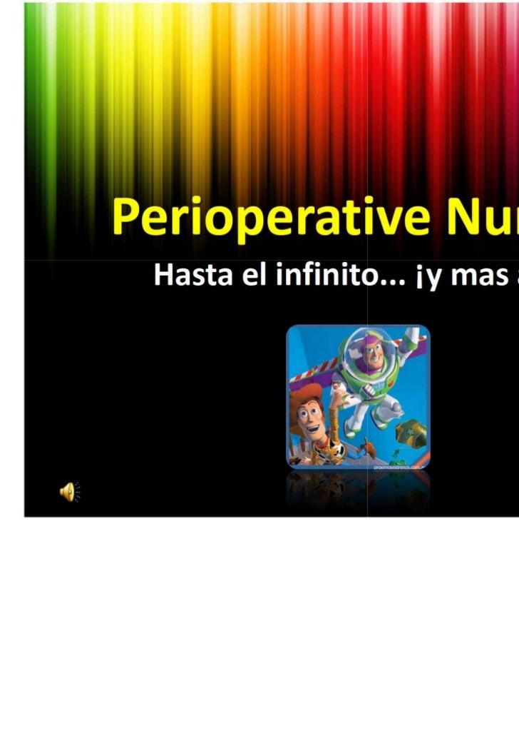 Perioperative nurses 2011 aeeq11