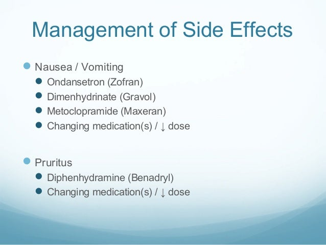 Dimenhydrinate Side Effects