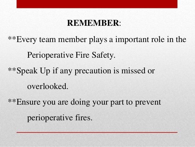 Perioperative Safety Plan