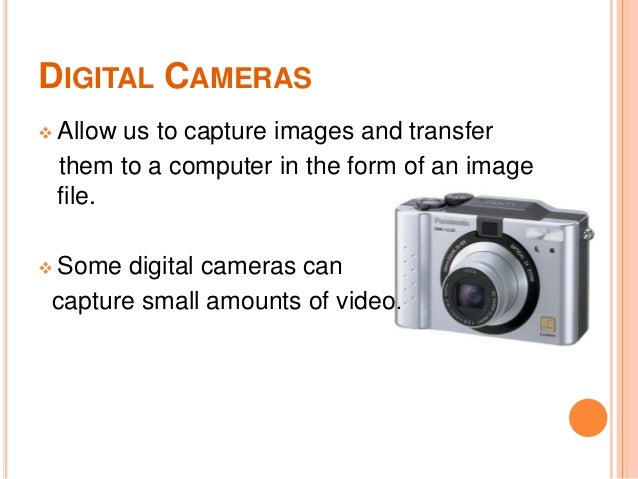 What Is Digital Camera In Computer