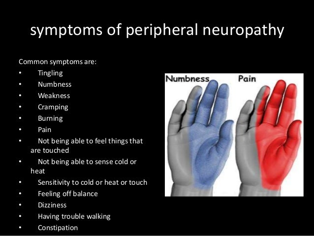 the signs symptoms and treatment for peripheral neuropathy Warning signs of alcoholic neuropathy posted on february 14th peripheral neuropathy – symptoms residential treatment centers and.