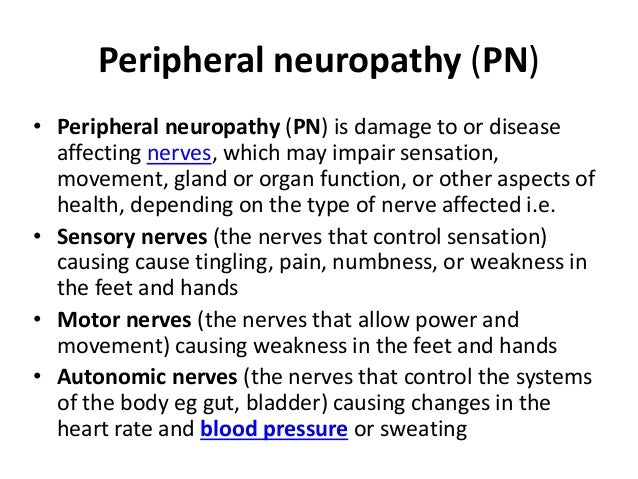 peripheral neuropathy, Skeleton