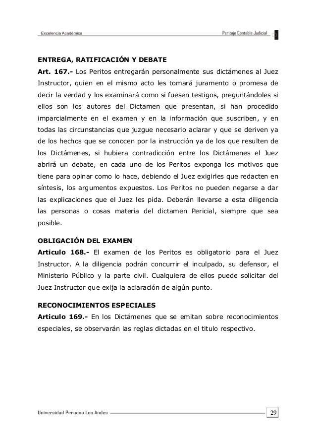 EJEMPLO DE Peritaje contable judicial