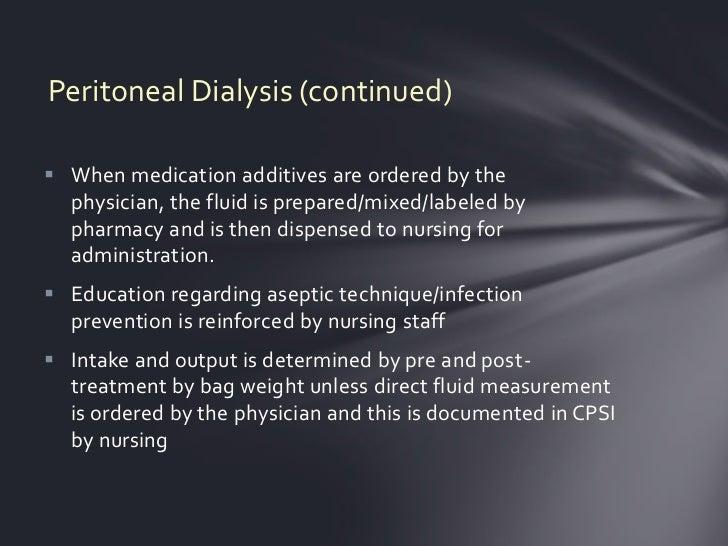 Peritoneal dialysis   Slide 2