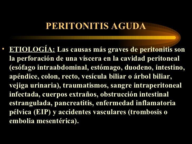 Peritonitis agudas Slide 2
