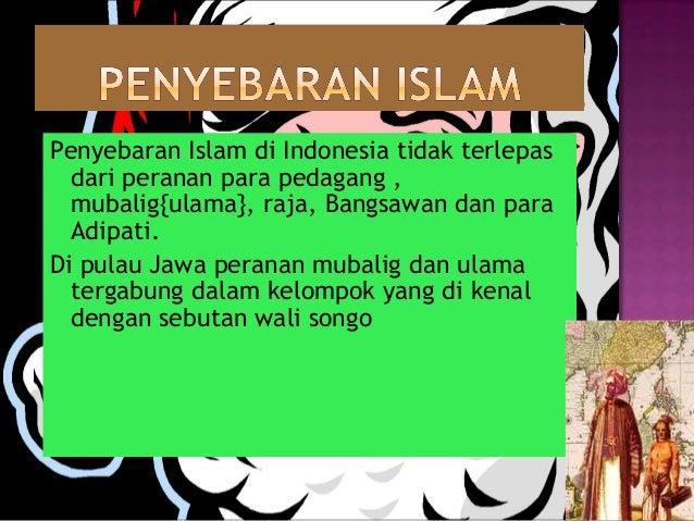 Perjalanan Islam Ke Indonesia Dan Peranan Wali Ppt