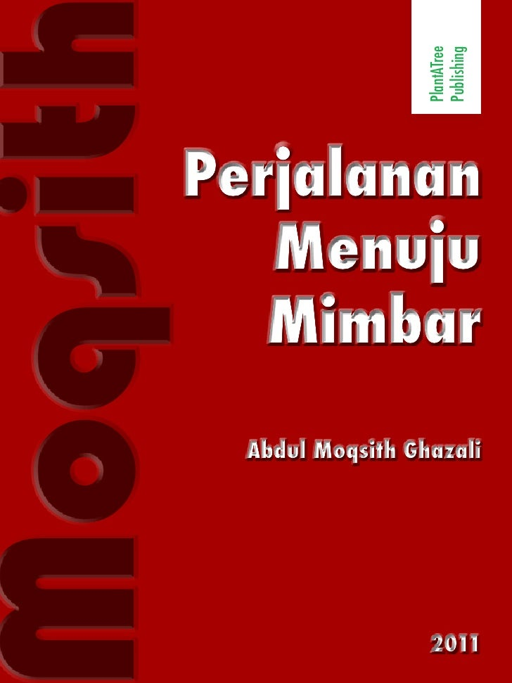 PlantATree                        Publishingoqsit    Perjalanan       Menuju       Mimbar        Abdul Moqsith Ghazali    ...