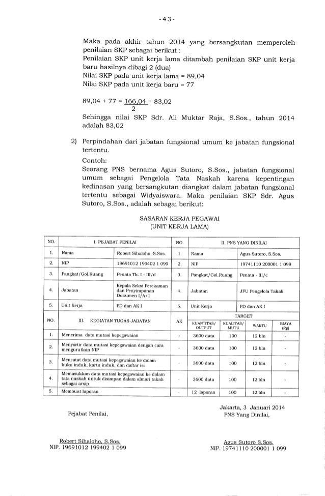 Ketentuan Pelaksanaan Pp No 46 2011 Penilaian Prestasi Kerja Pns