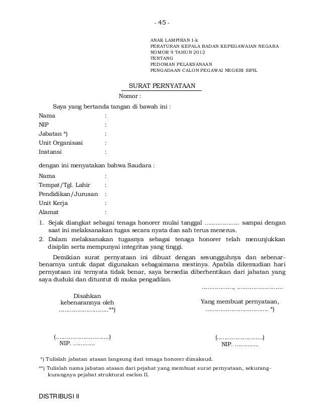 Contoh Surat Pengunduran Diri Jabatan Struktural Surat P