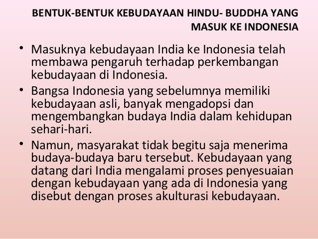 Perkembangan Agama Dan Kebudayaan Hindu Budha Di Indonesia