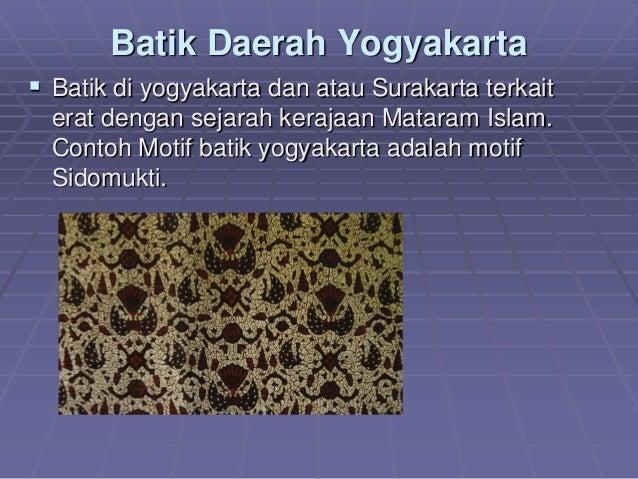 Perkembangan batik dan peluang bisnis di indonesia makalah uin 7 0kt