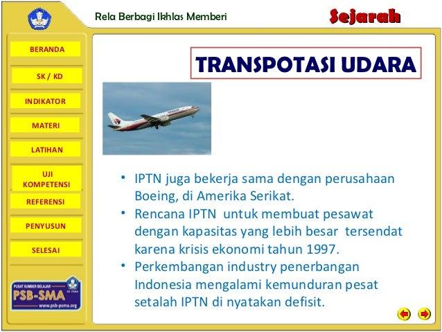 Rela Berbagi Ikhlas Memberi           Sejarah BERANDA  SK / KD                                 TRANSPOTASI UDARAINDIKATOR ...