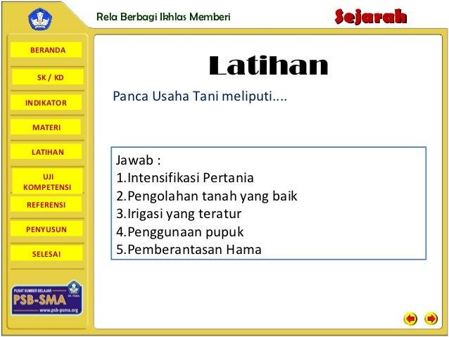 Rela Berbagi Ikhlas Memberi        Sejarah BERANDA  SK / KD                                   LatihanINDIKATOR            ...