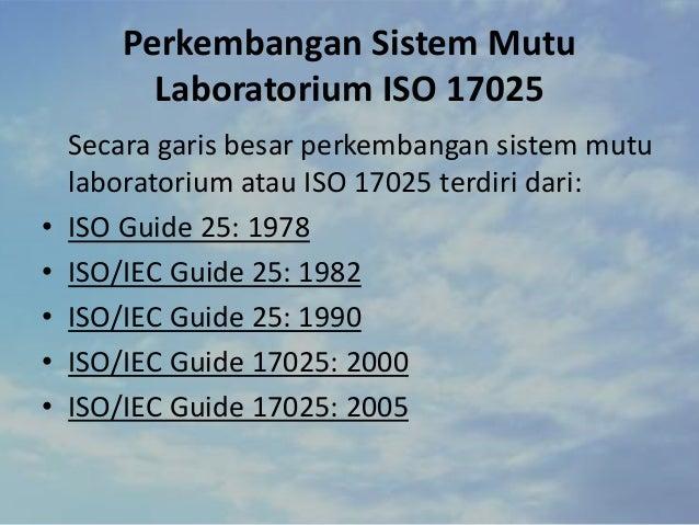 Hasil gambar untuk ISO/IEC Guide 25