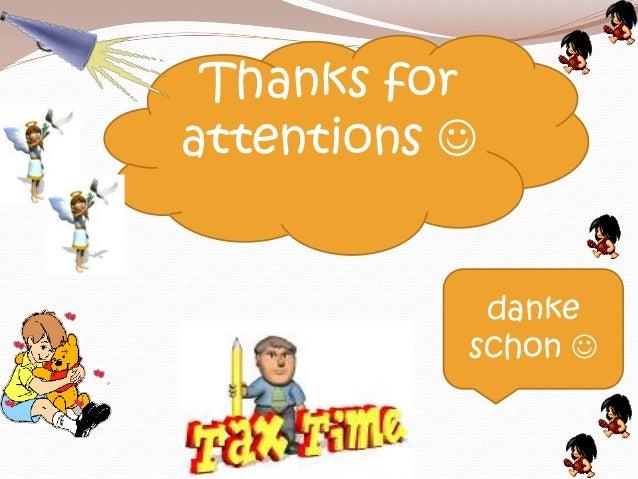 Thanks forattentions             danke           schon 