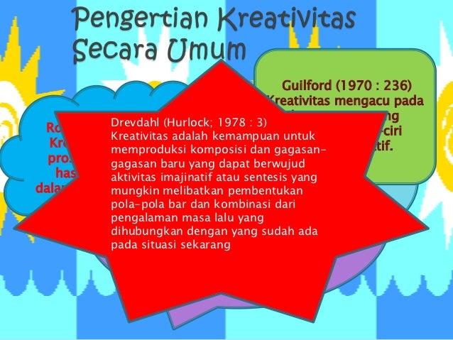                                             Guilford (1970 : 236)                                          Kreativitas me...