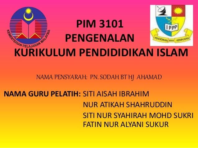Perkembangan Pendidikan Islam Di Malaysia