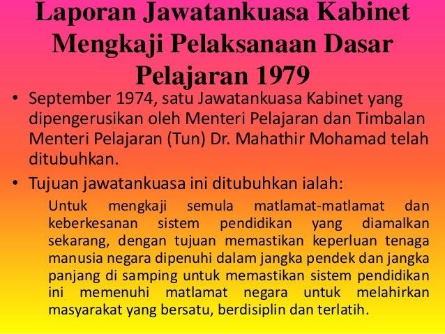 LAPORAN JAWATANKUASA KABINET 1974 PDF