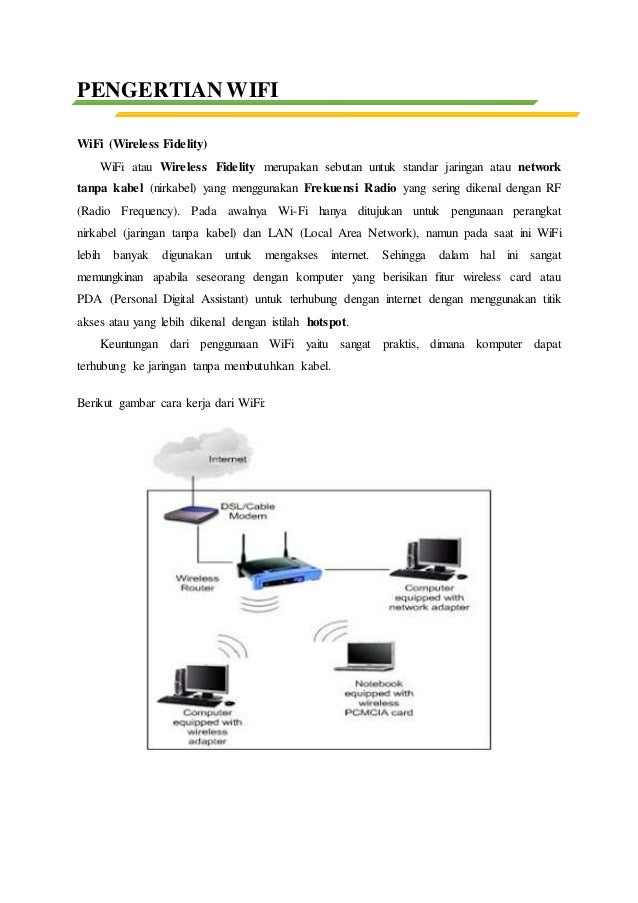 Perkembangan teknologi jaringan nirkabel wifi 80211 3 ccuart Choice Image