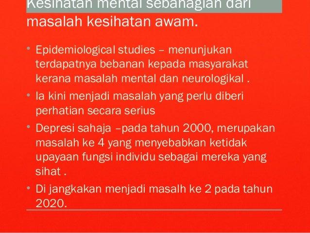 Perkhidmatan Psikiatri Di Malaysia