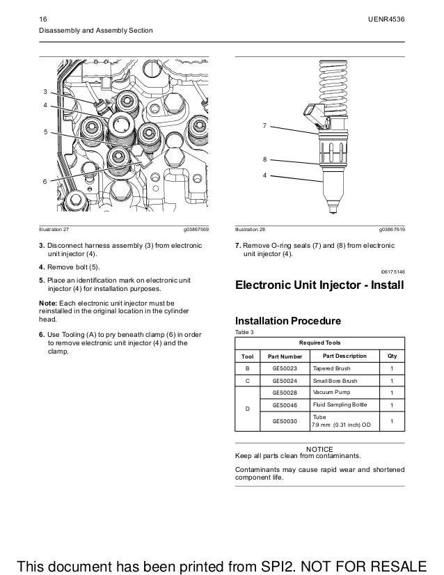 Perkins 2200 series 2206 f e13ta industrial engine (model