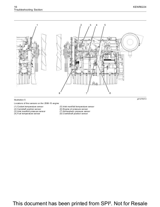 Perkins 2500 series 2506 15 industrial engine (mga