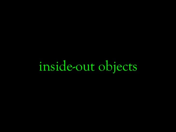 inside-out objects