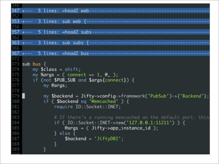 Fold Methods  Syntax Fold  Marker Fold            :set foldmethod=marker                 fold region by markers , the     ...