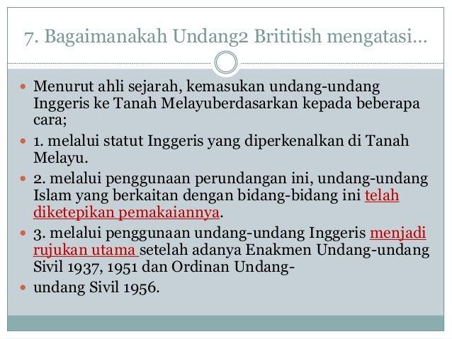 Perlaksanaan Perundangan Islam Dari Sudut Sejarah 2018