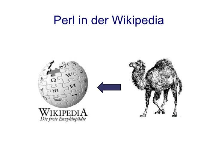 Perl in der Wikipedia