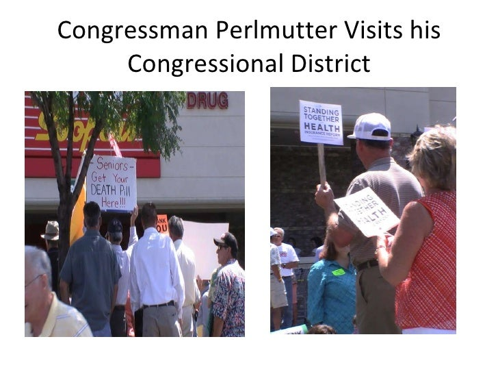 Congressman Perlmutter Visits his Congressional District