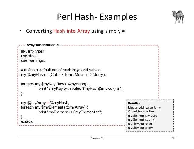 Perl Programming - 01 Basic Perl