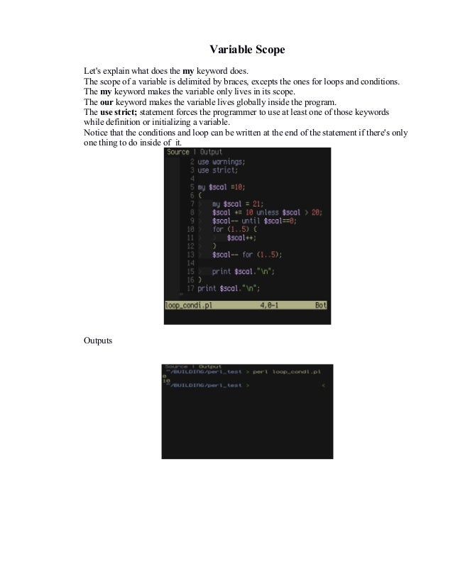perl programming language essay Essays related to the perl programming language: the joy of perl, critique of where perl 6 is heading, etc.