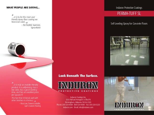 Induron Coatings Inc.3333 Richard Arrington Jr. Blvd NBirmingham, Alabama 35234-2303Phone: 205-324-9584 · 800-324-9584 · F...