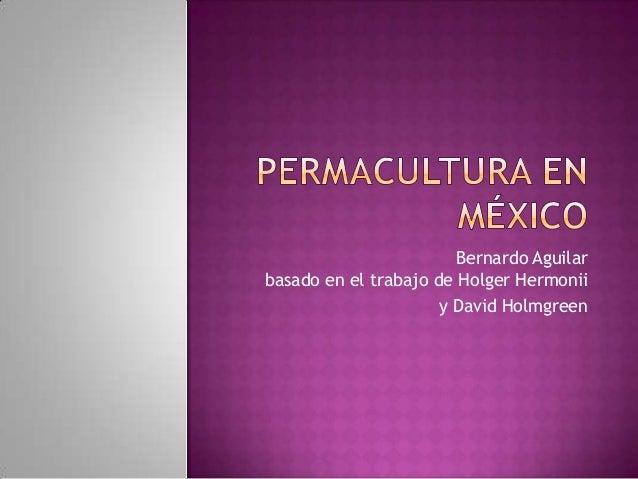 Bernardo Aguilarbasado en el trabajo de Holger Hermonii                      y David Holmgreen