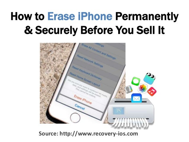 how to clear iphone to sell how to permanently erase all data from iphone 18670