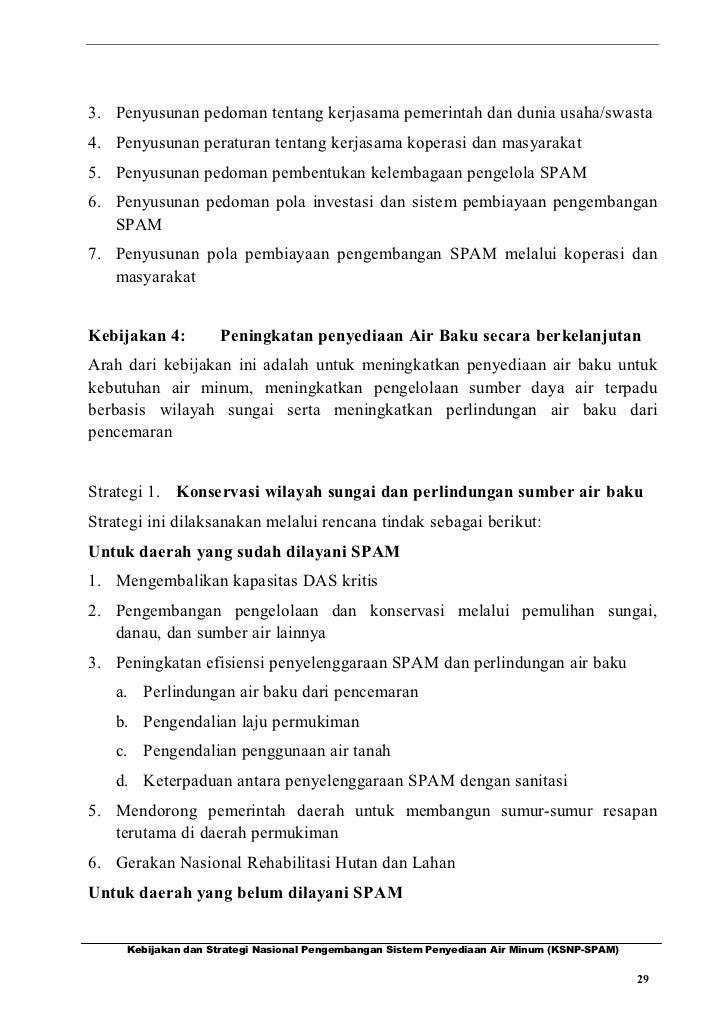 3. Penyusunan pedoman tentang kerjasama pemerintah dan dunia usaha/swasta4. Penyusunan peraturan tentang kerjasama koperas...