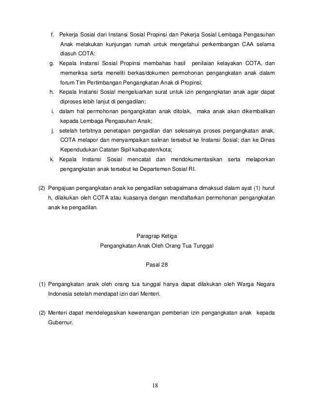 Contoh Surat Rekomendasi Pengangkatan Anak Dari Dinas Sosial Contoh Lif Co Id