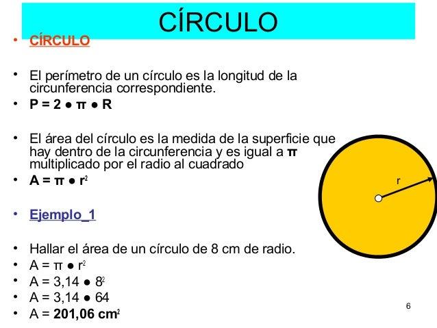 Como Calcular El Radio De Un Circulo Sabiendo El Perimetro