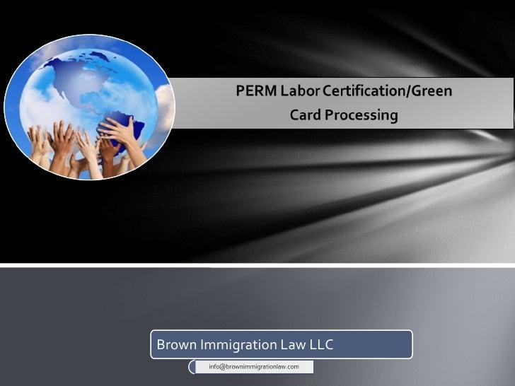 Brown Immigration Law LLC