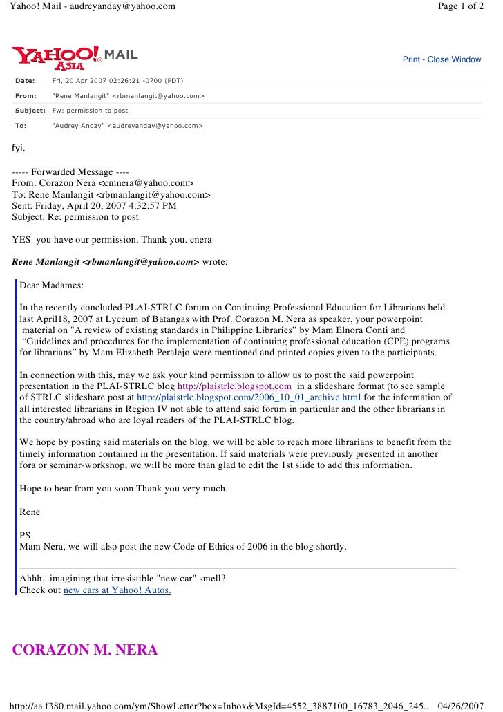 Yahoo! Mail - audreyanday@yahoo.com                                                                         Page 1 of 2   ...